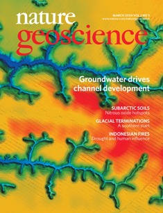 Nature Geoscience - Cover